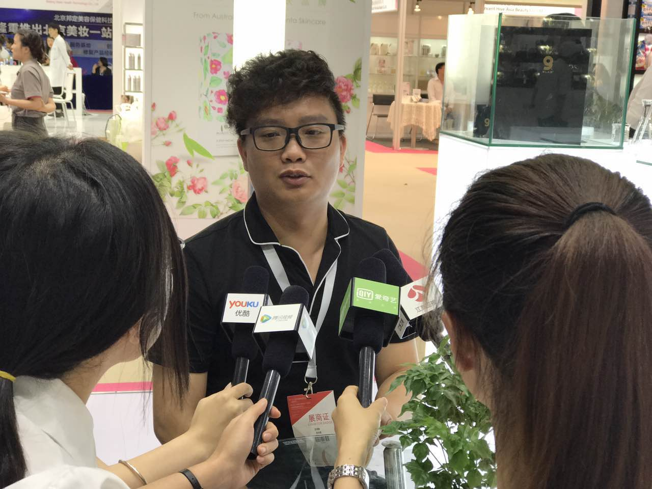 """9LAB(九研美尚)中国CEO惊喜亮相美博会,传递全新""""定制""""理念"""
