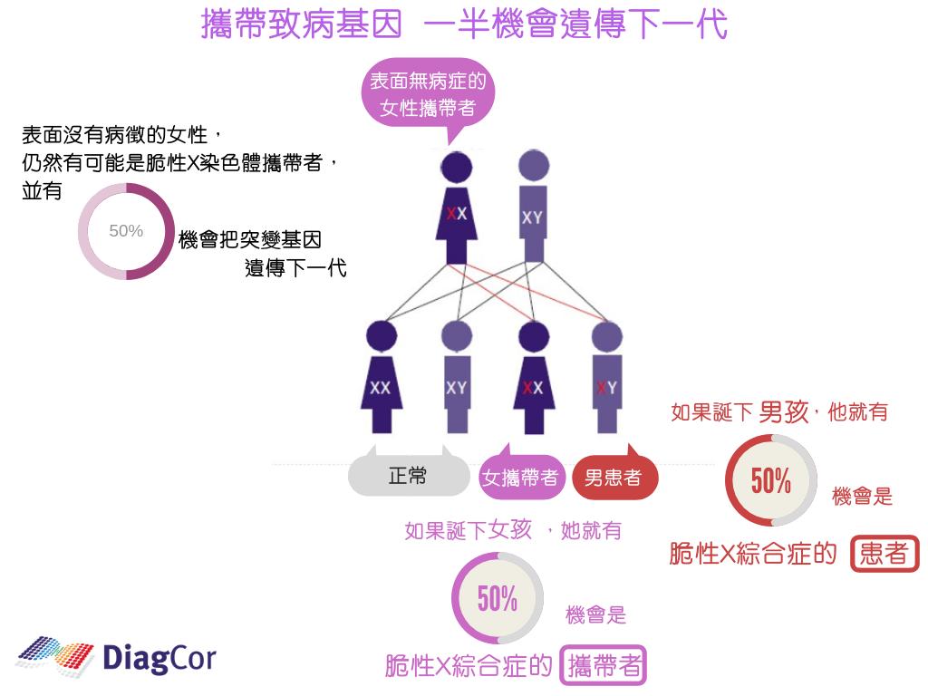 达雅高遗传病检测——传男不传女?一文读懂脆性X综合征!